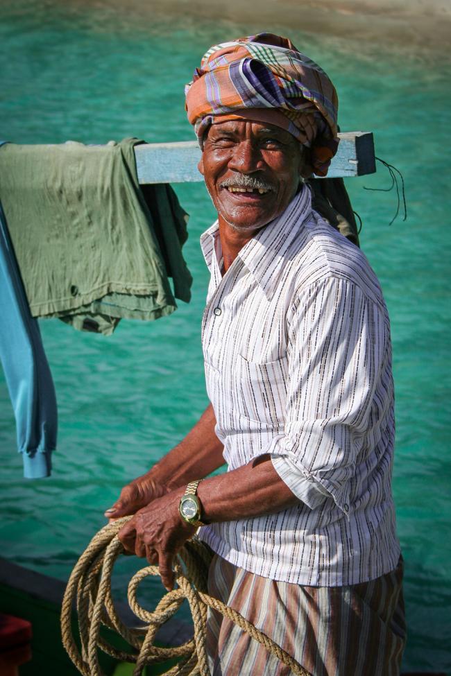 Malaysisk fisker