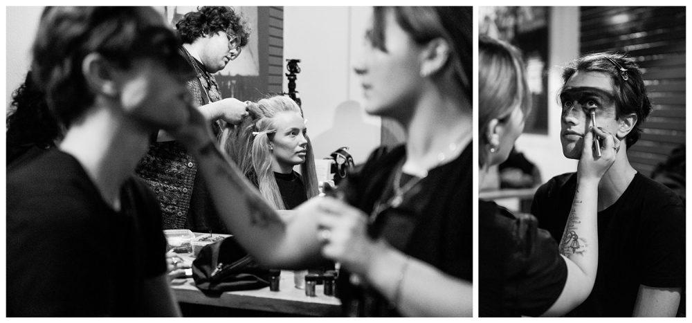 Raremond fashion event backstage | Photo by Fonnesbo
