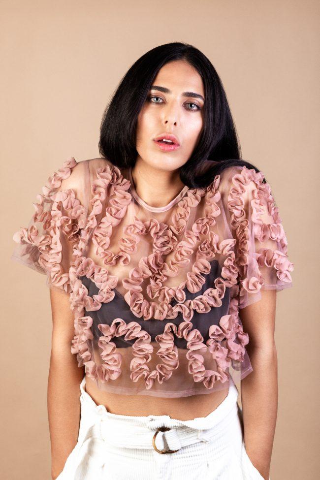 Model: Kathleen Ladani