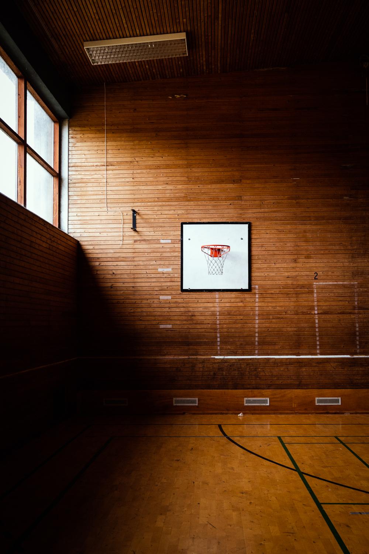 Basketballnet, Naturlejren Auderød - Fotograf: Tenna Fonnesbo
