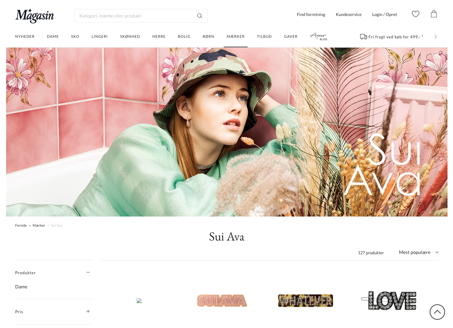 Sui Ava - Magasin Webshop