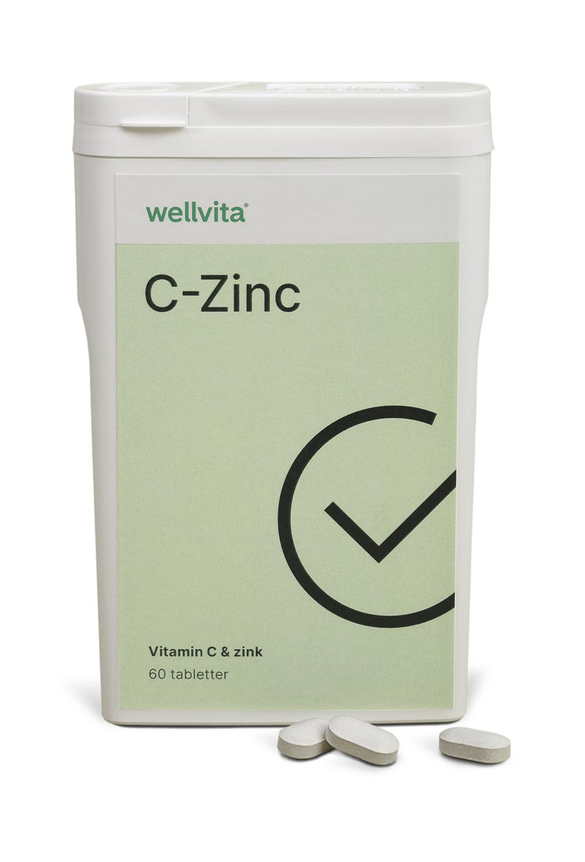 Wellvita C-Zink - Vitamin C & zink. Photo: Tenna Fonnesbo