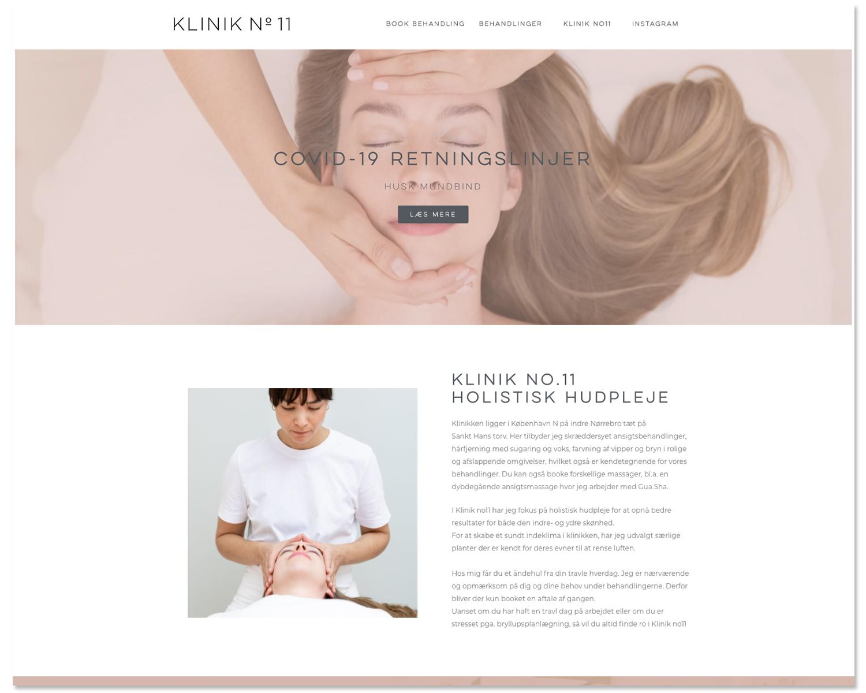 Klinik no.11 - website